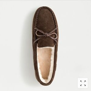 J. Crew Shoes - J Crew Men Classic Faux-Shearling Slippers Size 11